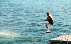 Danny Wakeboarding